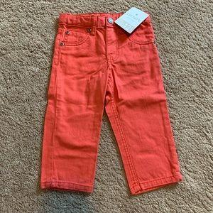 CARTERS Coral/Orange Jeans
